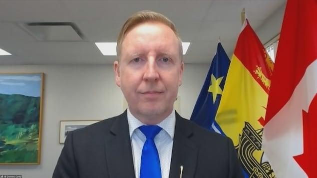 Le ministre de l'Éducation et du Développement de la petite enfance Dominic Cardy, le 9 septembre 2021.