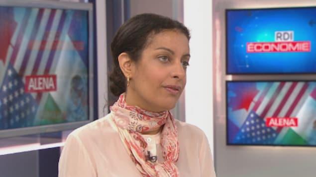 Dominique Anglade fait valoir que le Québec a prévu ajouter des attachés commerciaux aux États-Unis.