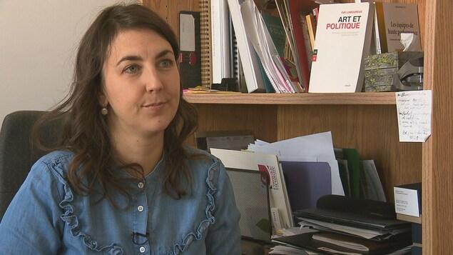Dominique Lapointe, agente de développement à Culture Bas-Saint-Laurent
