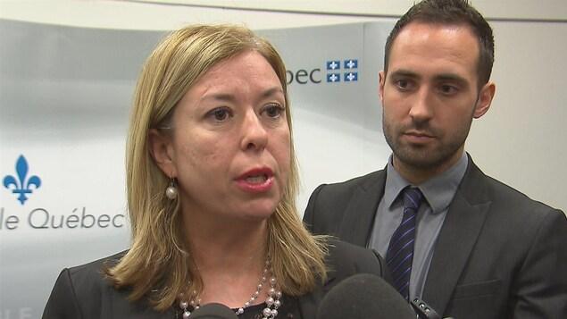 Dominique Vien, ministre responsable du Travail