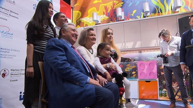 La Fondation Mirella & Lino Saputo fait un don de 10 millions de dollars en soutien aux enfants atteints de troubles musculosquelettiques.