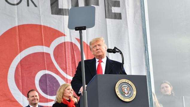 Le président des États-Unis