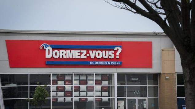 Devanture d'un magasin Dormez-vous?