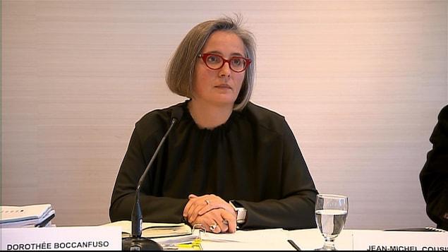 Dorothée Boccanfuso, vice-doyenne à l'École de gestion de l'Université de Sherbrooke