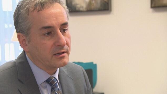 Stéphane Tremblay, président-directeur général du CIUSSS de l'Estrie-CHUS.