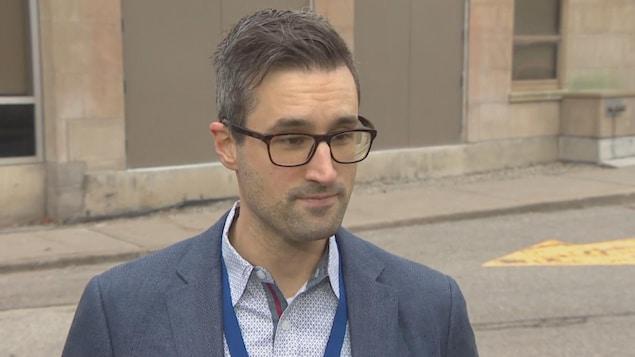 Le Dr Jerome Leis, directeur de la prévention des infections à l'Hôpital Sunnybrook de Toronto