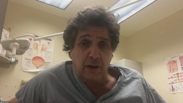 Dr Paul Cloutier, chirurgien à l'hôpital régional d'Edmundston.
