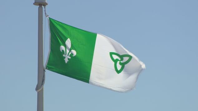 Le drapeau franco-ontarien