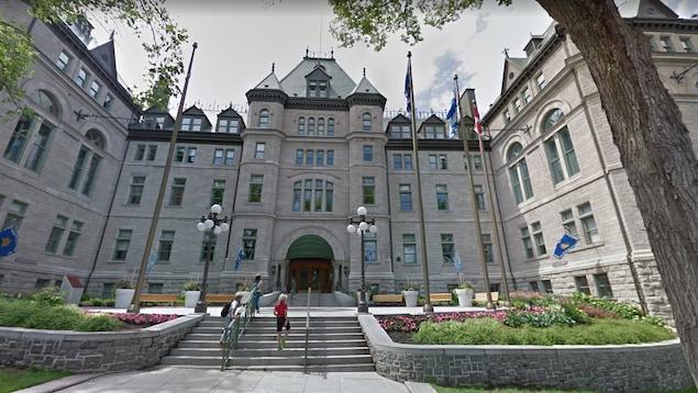Hôtel de ville de Québec.