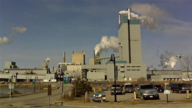 L'usine Domtar