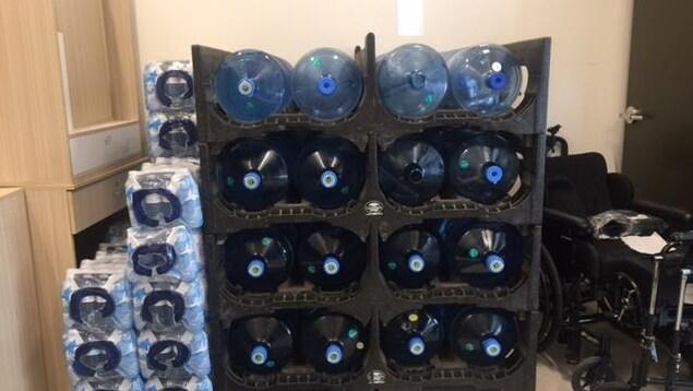 La Ville de Sherbrooke approvisionne le Grace Home en eau potable.