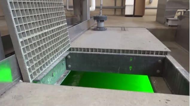 Images des eaux usées.