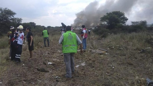 Un avion de ligne s'écrase au décollage, aucun mort — Mexique