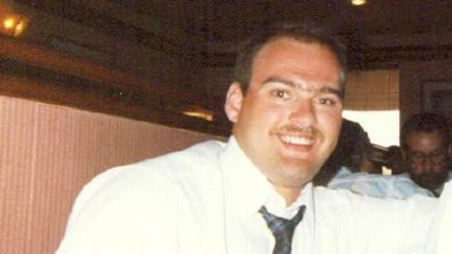 Eddy Lefrançois à l'âge de 22 ans.