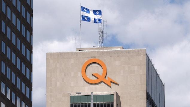 L'édifice d'Hydro-Québec, à Montréal