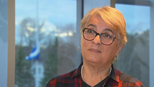 Édith Guilbert, médecin-conseil à l'Institut national de santé publique du Québec, en entrevue