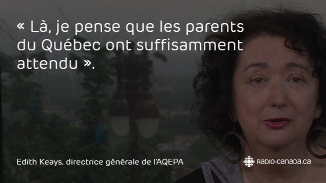 Edith Keays, directrice générale de l'Association du Québec pour enfants avec problèmes auditifs (AQEPA)