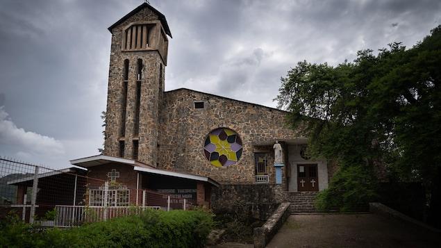 L'église de Kibuye au Rwanda.