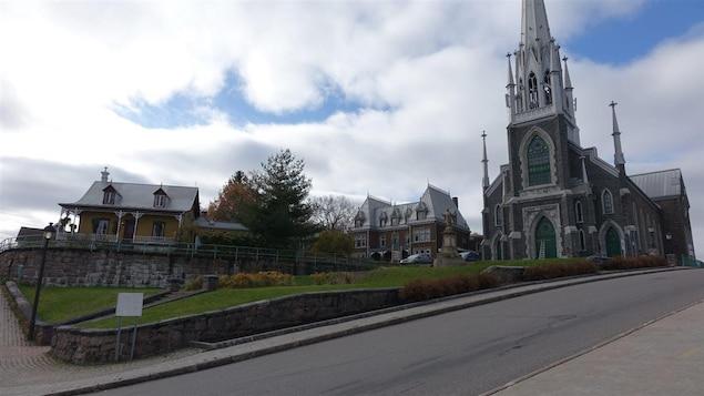 L'église Sacré-Coeur de Chicoutimi à Saguenay