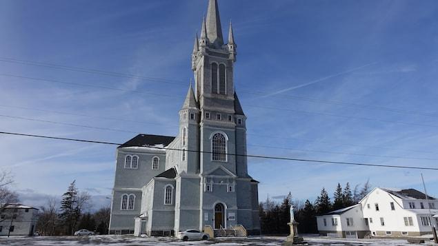 L'église en décembre 2019.