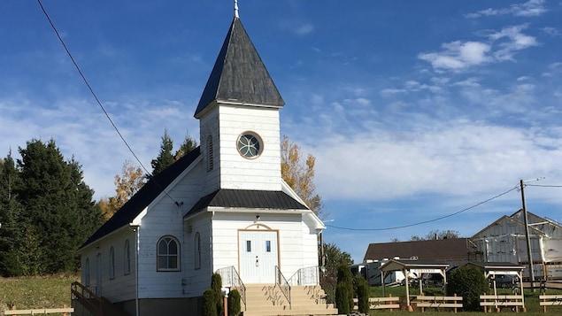 L'église St John United de Ristougouche-Partie-Sud-Est.