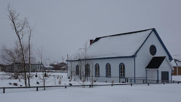 L'église de la vieille réserve de Uashat