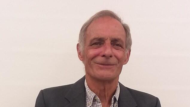 Le candidat du Parti conservateur, Germain Dumas, dans la circonscription Avignon‒La Mitis‒Matane‒Matapédia.