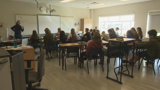 Certaines classes de l'école François-Buote comptent jusqu'à 27 élèves. Dans le passé, le nombre moyen était de 15.