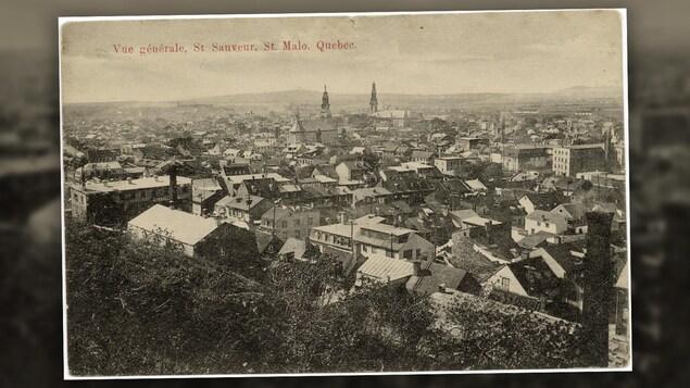 Une vue générale du quartier Saint-Sauveur