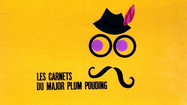 Titre d'ouverture de l'émission avec une image personnifiant le major Plum Pouding.