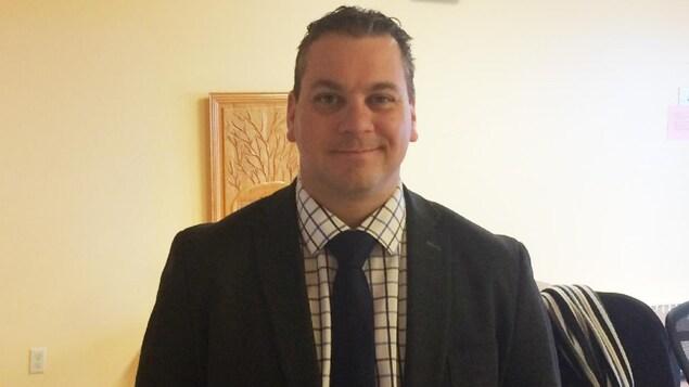 Emmanuel Aucoin, président du conseil d'administration du CISSS des Îles-de-la-Madeleine et directeur général de CTMA