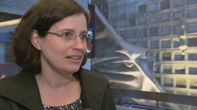 Emmanuelle Pequin, directrice de la médiation culturelle et des projets spéciaux pour l'Orchestre symphonique de Québec