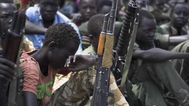 Des enfants-soldats au Soudan du Sud