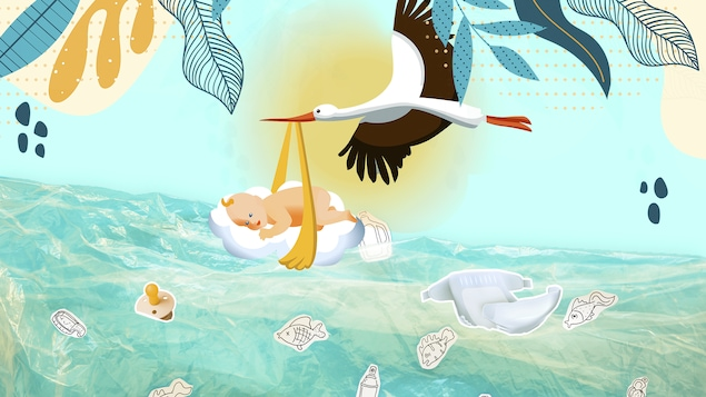 Comment impliquer son enfant dans une démarche zéro déchet? Le plus tôt sera le mieux, soutient l'auteure du blogue Zéro déchet Gatineau–Outaouais, Chloé Gourde-Bureau.