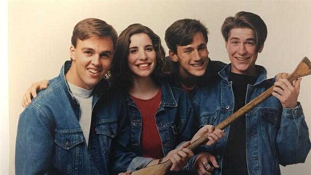 L'équipe de l'émission jeunesse Club Sandwich