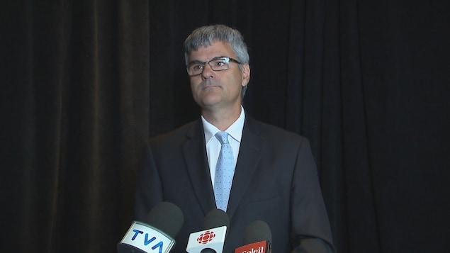 Éric Caire, député sortant de La Peltrie et candidat caquiste