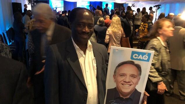 Éric Carrénard, directeur de l'Association culturelle Haïti-Canada.