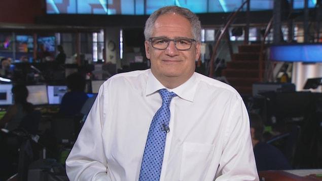 Éric Tétrault, porte-parole de l'Association pétrolière et gazière du Québec