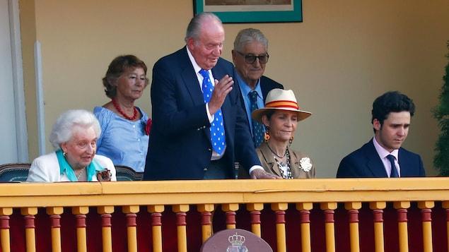 L'ancien roi Juan Carlos à Aranjuez, en 2019.
