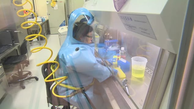 Dr. Xiangguo Qiu, a prominent virologist at the forefront of an ongoing RCMP investigation, is seen in an undated screengrab at the Winnipeg-based National Microbiology Laboratory. She was fired from her post in January, but officials won't say why.