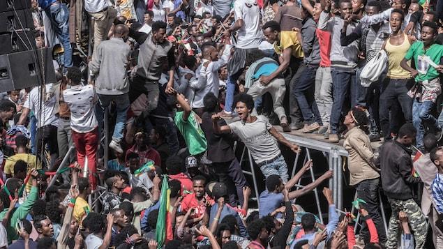 Éthiopie : 83 blessés dans une explosion à Addis-Abeba