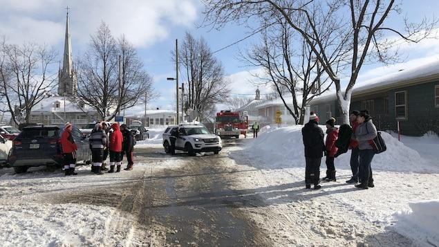 Une quarantaine de personnes ont été évacuées dans le calme