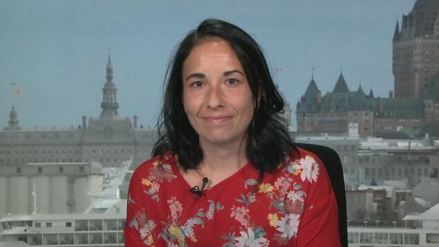 Ève Dubé, anthropologue et chercheuse à l'Institut national de santé publique du Québec