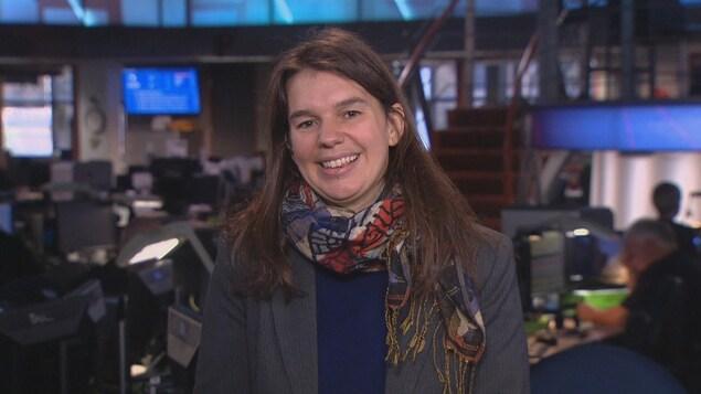 Eve-Lyne Couturier, de l'Institut de recherche et d'informations socio-économiques