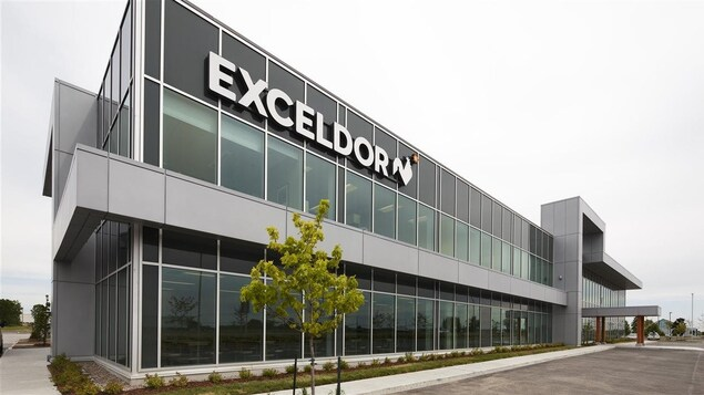 L'usine d'Exceldor.