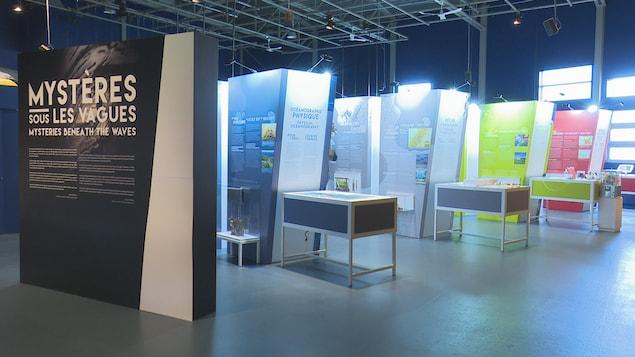 L'exposition «Mystères sous les vagues» permet de découvrir le Saint-Laurent sous toutes ses coutures.
