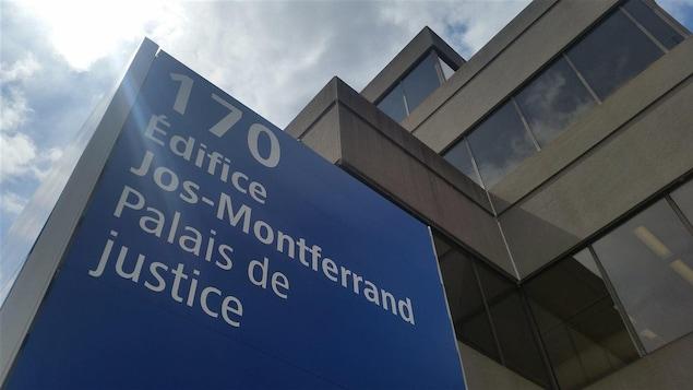 L'extérieur du palais de justice de Gatineau et de l'Édifice Jos-Montferrand