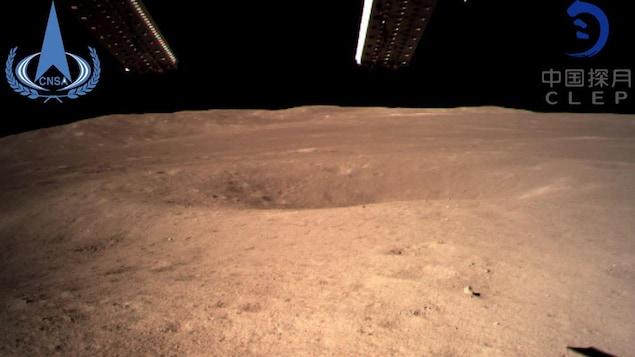Le module d'exploration chinois Chang'e-4 s'est posé sur la Lune le 3 janvier 2019.