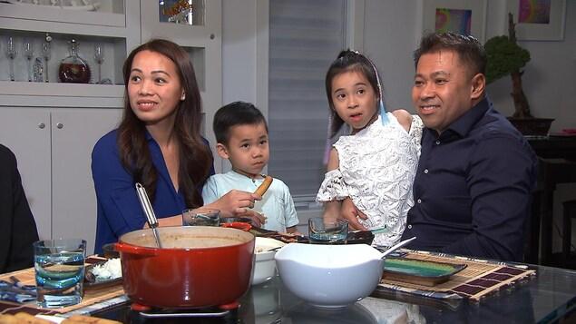 Minh Tri Truong et sa famille