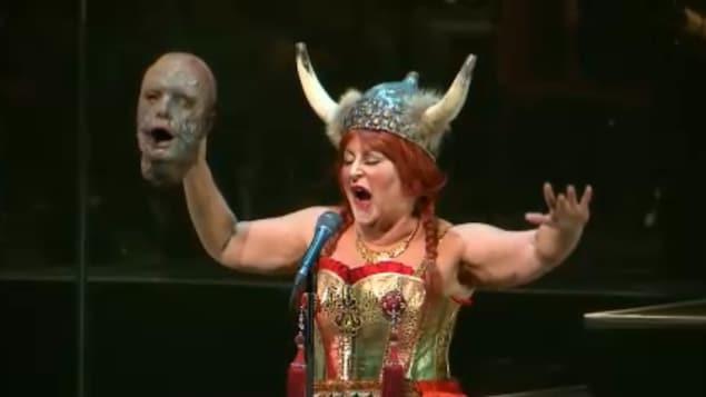 Une scène du Fantôme de l'Opéra